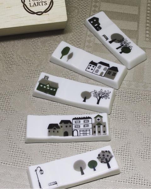モダン箸置き 5個セット