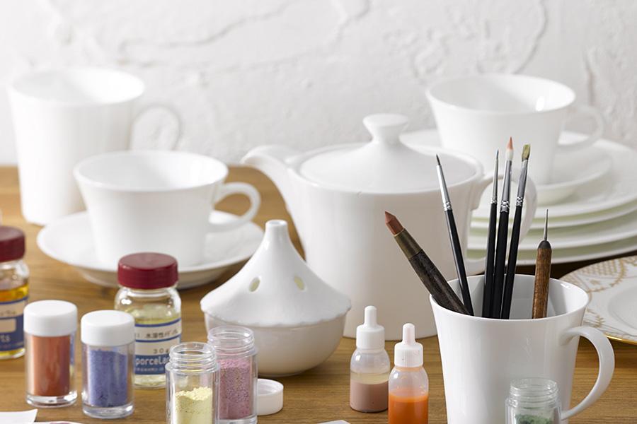 Porcelarts material jiki
